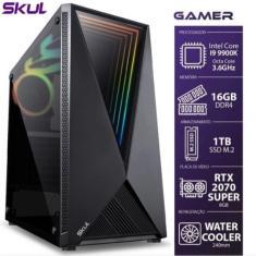 PC Skul G9900KWM1T16 Intel Core i9 9900K 8 GB 1.000 Linux DVD-RW
