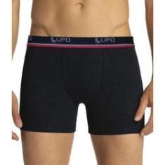 Imagem de Kit 10 Cuecas Box Lupo Algodão Boxer Masculina Adulto Cotton  G