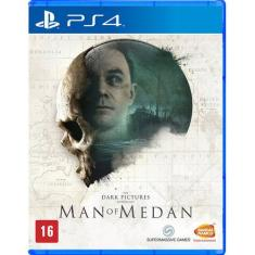 Jogo Game The Dark: Pictures Man of Medan PS4 Bandai Namco