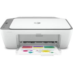 Impressora Multifuncional HP Ink Advantage 2776 Jato de Tinta Colorida Sem Fio
