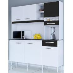 Imagem de Cozinha Compacta 1 Gaveta 6 Portas Bárbara Poquema