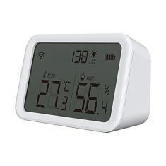 Imagem de Tuya Smart Life Sensor Zigbee de temperatura e umidade Higrômetro interno Termômetro com display LCD Suporte Alexa Google Home Trabalhe com o Zigbee Hub