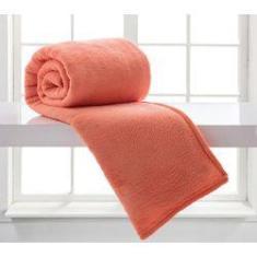 Imagem de Manta King Microfibra Home Design Coral II - Corttex