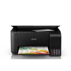 Impressora Multifuncional Epson Ecotank L3150 Tanque de Tinta Colorida Sem Fio