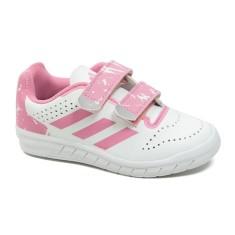 e3c69a7bf Fotos (2). 0  1. Tênis Adidas Infantil (Menina) QuickSport CF Casual