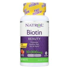 Biotina 10.000Mcg Sublingual - Natrol