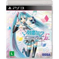 Jogo Hatsune Miku Project DIVA F 2nd PlayStation 3 Sega