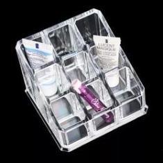 Imagem de Organizador Porta Batom Maquiagem Pincel 9 Espaços Acrílico