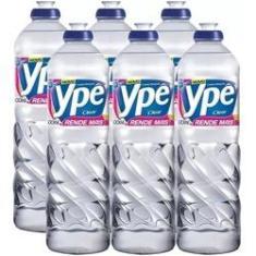 Detergente Neutro Ypê 500ml 6 Unidades