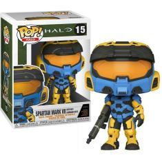 Imagem de Pop Funko Spartan Mark VII #15 Halo Games Oficial Com Nota