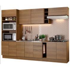 Imagem de Cozinha Completa 3 Gavetas 10 Portas Stella 290001 Madesa