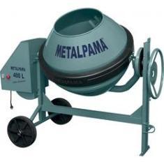 Imagem de Betoneira 400 Litros Com Motor Monofásico - Construtor - Metalpama
