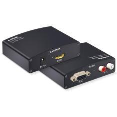 Imagem de Conversor HDMI para VGA com Áudio - Comtac 9219
