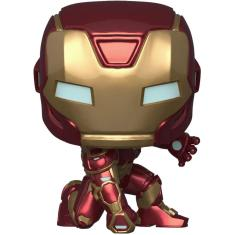 Imagem de Funko Pop! Marvel: Avengers Game - Homem de Ferro (Tech Suit)