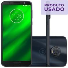 Smartphone Motorola Moto G G6 Plus Usado 64GB Android