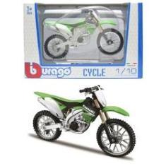 Imagem de Moto Kawasaki KX 450F - Cycle - 1/18 - Bburago