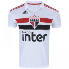 505fa7c9a52a Camisa São Paulo I 2018/19 Torcedor Masculino Adidas