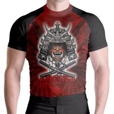 Imagem de Rash Guard Red Samurai Protecao UV ATL