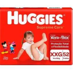 Fralda Huggies Disney Supreme Care Xtra-flex Tamanho XXG 52 Unidades Peso Indicado 14 - 18kg