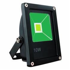 Imagem de Refletor Led 10w Verde Bivolt Prova D'água IP66