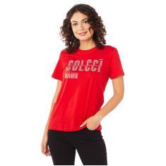 Imagem de Camiseta Estampada Colcci, Feminino,  Ife, M