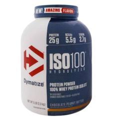 Iso 100 Whey Protein Isolado 100% Hidrolisado (2300g) Dymatize Nutrition