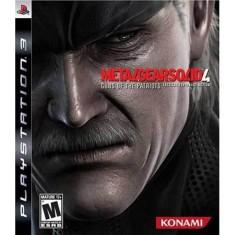 Jogo Metal Gear Solid 4: Guns of the Patriots PlayStation 3 Konami