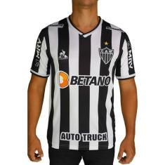 Imagem de Camisa Atlético Mineiro 21/22 Masc Jogo I Le coq Sportif