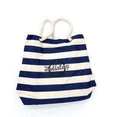 Imagem de Bolsa Ecobag - Holiday / My Other Bags Are -  Marinho
