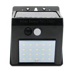 Imagem de Refletor Balizador Solar 30w Sensor De Presença Externo