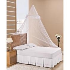 Imagem de Mosquiteiro de teto com aro para cama Solteiro