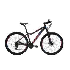Bicicleta Mountain Bike Cairu MTB 21 Marchas Aro 29 Suspensão Dianteira Freio a Disco Mecânico Lotús Angel