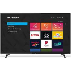 "Smart TV LED 43"" AOC Full HD 43S5195 3 HDMI"