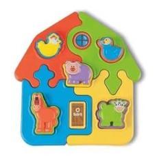 Imagem de Brinquedo Didático Puzzle Mania Fazenda - TaTeTi