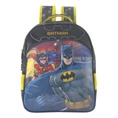 Mochila com Rodinhas Escolar Xeryus Batman Bat Squad