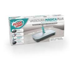 Imagem de Vassoura Mágica Plus Feiticeira Mop Flash Limp Varredora