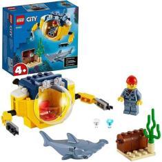 Imagem de Brinquedo Criança Lego City Mini-submarino Oceânico 41 Peças