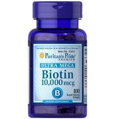 Ultra Mega Biotina 10.000Mcg (60 Softgels) - Puritan's Pride
