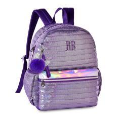 Mochila Clio Style Rebecca Bonbon com Compartimento para Notebook RB2064