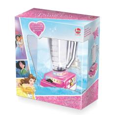 Imagem de Brinquedo Liquidificador Manual Liquifrutinha Princesas Disney - Lider Brinquedos