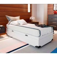 Imagem de Cama Box Solteiro com Colchão com Baú Veneza e Premium Mobly