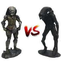 Imagem de Kit 2 Action Figure Predador Vs Alien 2 Pack Exclusive Resina