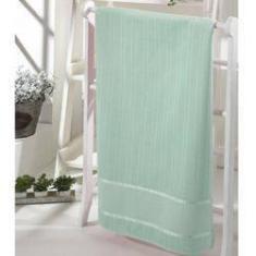 Imagem de Toalha lavabo Dohler velour bordar bella liso Verde 30x45cm