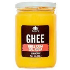 Imagem de Manteiga Ghee Com Sal  Do Himalaia 500G Benni Alimentos