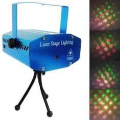 Imagem de Projetor Laser Holografico Canhao Strobo Efeitos Luzes Festas Natal (888645)