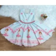 Imagem de Vestido de festa infantil bailarina