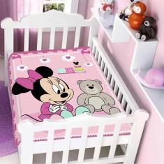 Imagem de Cobertor Infantil Raschel Jolitex Minnie Surpresa
