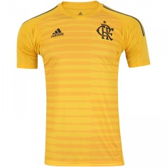 8f545a47591c4 Camisa Flamengo 2018 19 Goleiro Masculino Adidas
