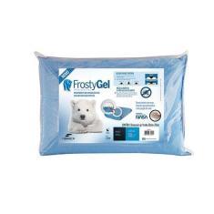 Imagem de Travesseiro Nasa Alto Frostygel Com Viscoelástico Block Base System - Fibrasca