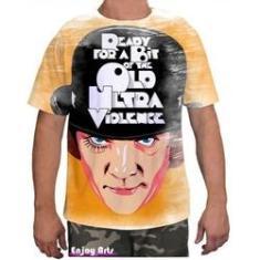 Imagem de Camiseta Camisa Masculina Orange Laranja Mecanica 16
